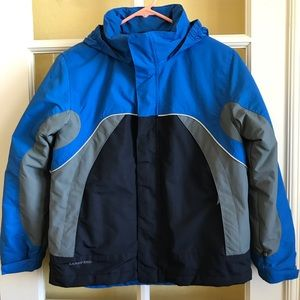 Blue Lands' End winter coat/jacket